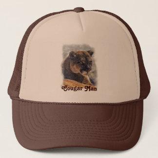 オオヤマネコ、大きな猫のクーガーはプロダクトをカスタマイズ キャップ