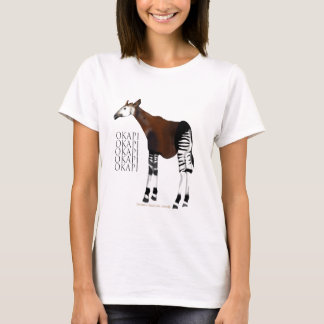 オカピのTシャツ Tシャツ