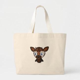 オカピ-私の保存公園 ラージトートバッグ