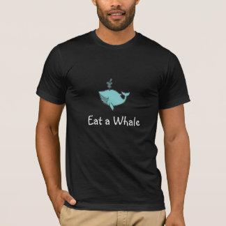オキアミを…食べますクジラを救って下さい! Tシャツ