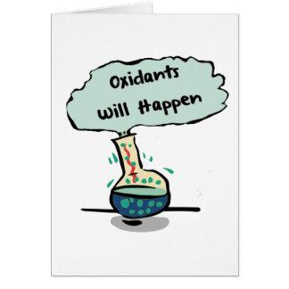 オキシダントはユーモア-化学起こります カード