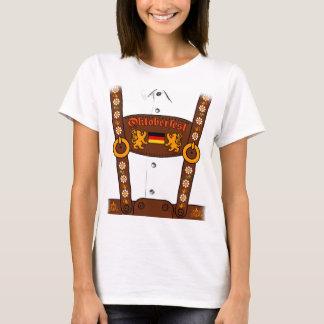オクトーバーフェストのドイツのハーフパンツのTシャツ Tシャツ