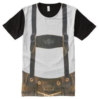 オクトーバーフェストのドイツ人のハーフパンツ オールオーバープリントT シャツ
