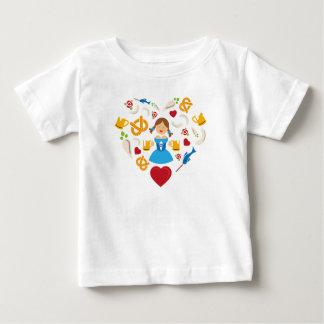 オクトーバーフェストのハート ベビーTシャツ