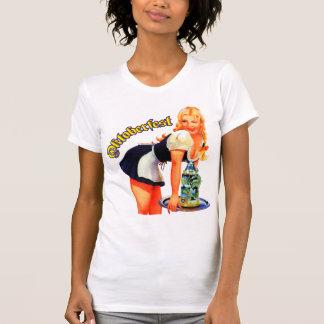 オクトーバーフェストの女の子のTシャツ Tシャツ