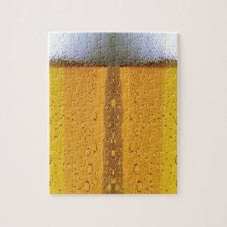 オクトーバーフェストの泡立つビール ジグソーパズル