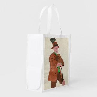 オクトーバーフェストの紳士 エコバッグ