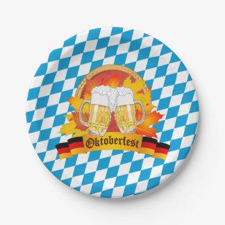 オクトーバーフェストドイツビールフェスティバル ペーパープレート