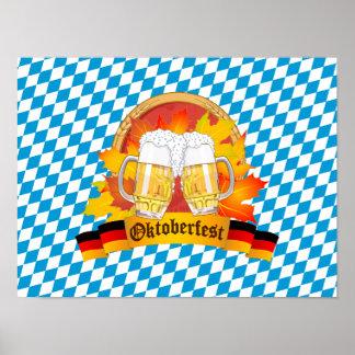オクトーバーフェストドイツビールフェスティバル ポスター