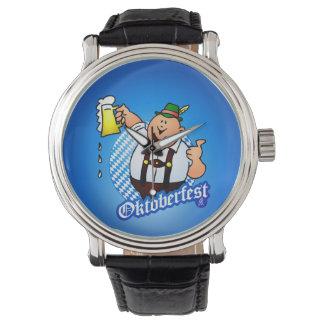 オクトーバーフェスト-ハーフパンツの人 腕時計