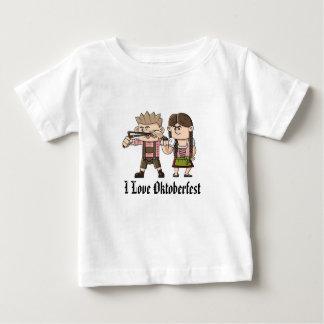 オクトーバーフェスト、赤ん坊の素晴らしいジャージーのTシャツ ベビーTシャツ
