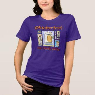 オクトーバーフェスト#2 Bella+キャンバスによって適合のジャージーのリラックスされるティー Tシャツ