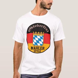 オクトーバーフェスト- Mahlerのスタイル Tシャツ