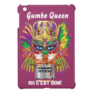 オクラの女王の謝肉祭の眺めは暗示します iPad MINIケース