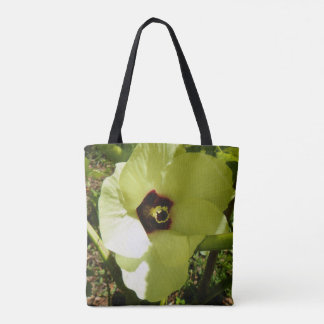 オクラの花 トートバッグ
