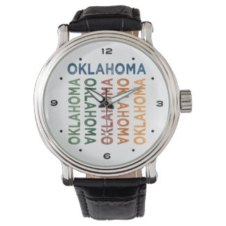 オクラホマのかわいいカラフル 腕時計