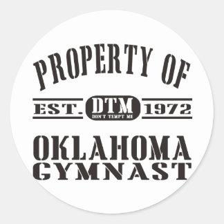 オクラホマの体育専門家 ラウンドシール
