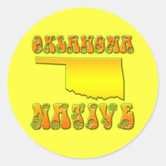 オクラホマの先住民 ラウンドシール