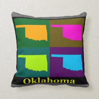 オクラホマの地図 クッション
