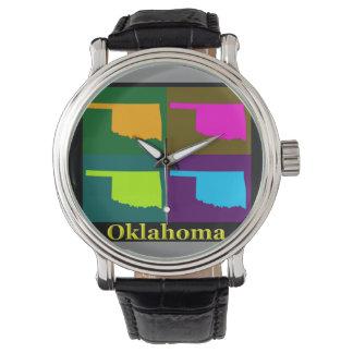 オクラホマの地図 腕時計