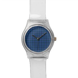 オクラホマの州のタータンチェック 腕時計