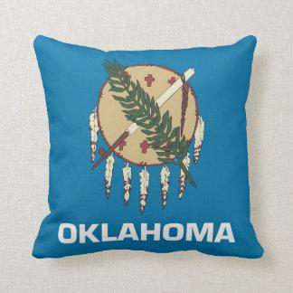 オクラホマの州の旗のアメリカ人のMoJoの枕 クッション