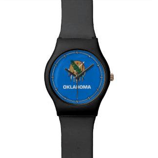 オクラホマの州の旗のデザイン 腕時計