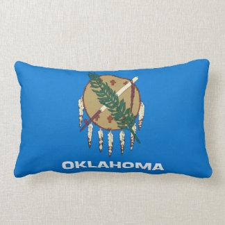 オクラホマの州の旗統一されたなアメリカ共和国の記号 ランバークッション