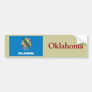 オクラホマの州の旗 バンパーステッカー