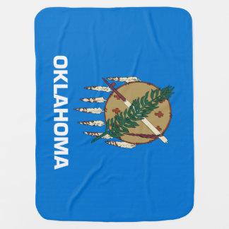 オクラホマの州の旗 ベビー ブランケット