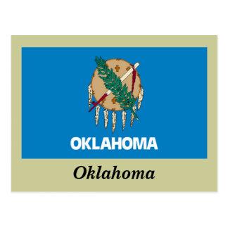 オクラホマの州の旗 ポストカード