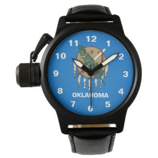 オクラホマの州の旗 腕時計