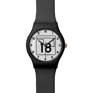 オクラホマの州ハイウェー18 腕時計