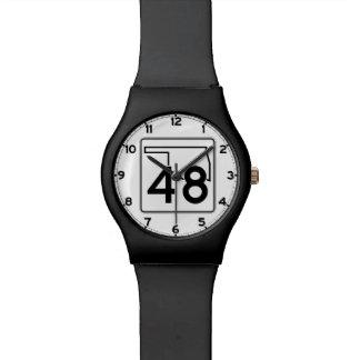 オクラホマの州ハイウェー48 腕時計