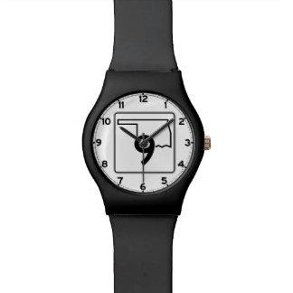 オクラホマの州ハイウェー9 腕時計