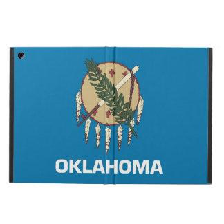 オクラホマの旗との愛国心が強いipadの場合 iPad airケース