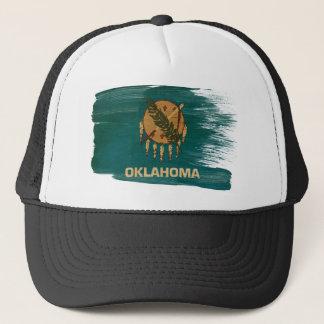 オクラホマの旗のトラック運転手の帽子 キャップ