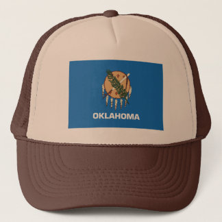 オクラホマの旗の帽子 キャップ