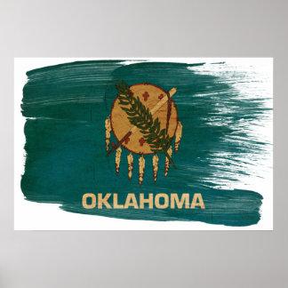 オクラホマの旗ポスター ポスター