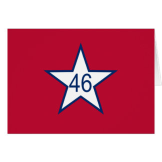 オクラホマの旗 カード