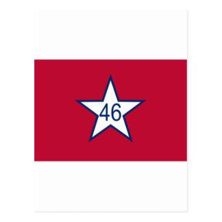 オクラホマの旗 ポストカード