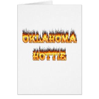 オクラホマの火および炎 カード