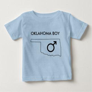 オクラホマの男の赤ちゃんのTシャツ ベビーTシャツ