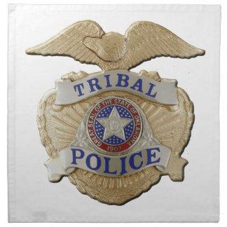 オクラホマの種族の警察 ナプキンクロス