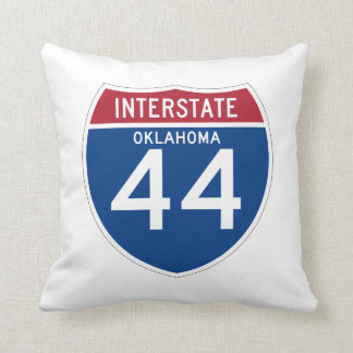 オクラホマの良いI-44州間幹線道路の盾- クッション