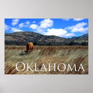 オクラホマの草原のプリント ポスター
