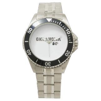 オクラホマの誇りを持ったな腕時計 腕時計