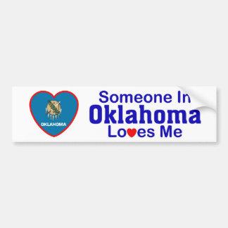 オクラホマの誰かは私を愛します バンパーステッカー