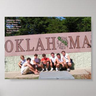 オクラホマのSK8DAWGS ポスター