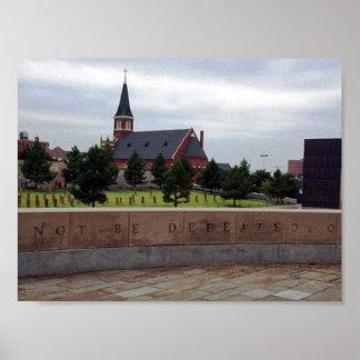オクラホマシティーの国民の記念物-オクラホマ ポスター